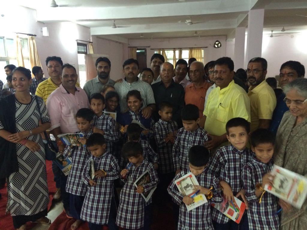 Saksham Rakshabandhan program in blind school at haldwani