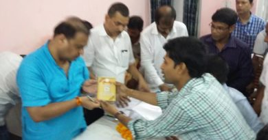 Submitted Memorandum to Dr. Himanta Biswa Sharma, H'ble Health Minister of Assam