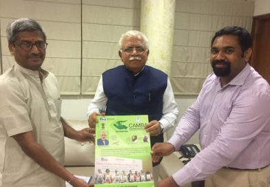 Discussed the Launch of CAMBA and SAKSHAM's Work in Karnal District and in Haryana.