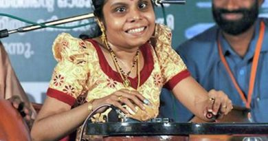 Visually challenged singer sets a record