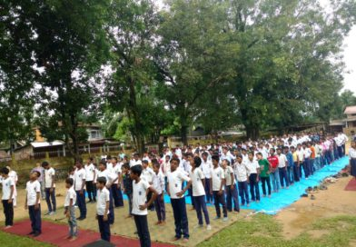 3rd International Yoga Day Celebrations at Silchar