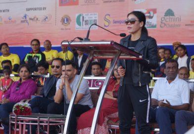 Nagapur Marathon on 26 November 2017