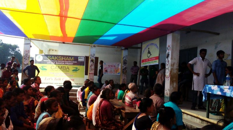 World Disability day at Jalpaigudi Uttar Bang
