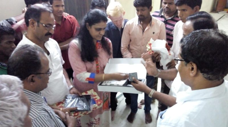 BRAILLE ME instruments presented to Sai Netra Home for Visually Challenged