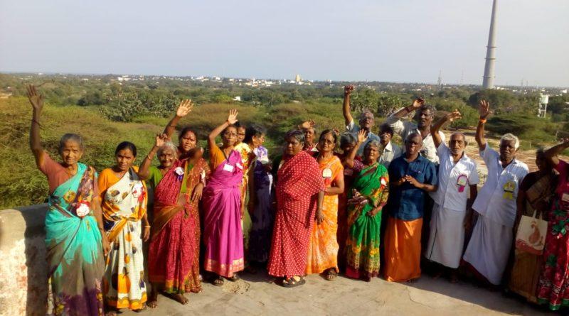 Leprosy Cured But Disabled Categories at Uttara Tamilnadu