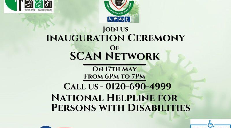 Soft Launch of SAKSHAMs SCAN HELPLINE